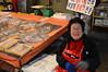 할머니  halmeoni (ViktorQuintero) Tags: travel people woman smile asia market stingray happiness seoul southkorea