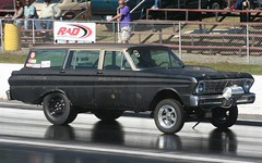 "1964 Ford Falcon Gasser ""Hoopty Wagon"" (osubuckialum) Tags: classic ford wagon nc northcarolina 64 falcon drags dragracing 1964 stationwagon gasser 2014 piedmontdragway gassers nostalgiadrags hooptywagon southeastgassers jimmyhuff"