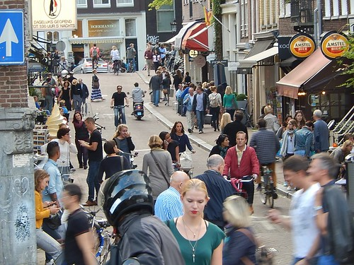 On the Street in Amsterdam by mikecogh, on Flickr