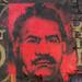 Abdullah Öcalan, painted portrait P1040642