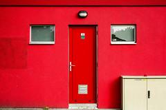 a little bit of red (tvdijk19) Tags: door city windows red netherlands colors elburg urbanarte
