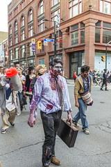 Toronto Zombie Walk 2014 (David Crombie Photography) Tags: party toronto ontario canada dead costume nikon apocalypse d800 2014 torontozombiewalk derelictcompositions