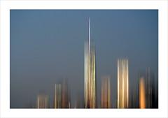 1 WTC, 7:15 pm (me*voilà) Tags: nyc blur skyscrapers manhattan icm boatride onblue 1wtc oneworldtradecenter