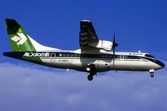 Air Dolomiti ATR-42-320 F-OHFC BCN 27/12/1994 (jordi757) Tags: barcelona airplanes bcn avions atr elprat atr42 airdolomiti lebl fohfc