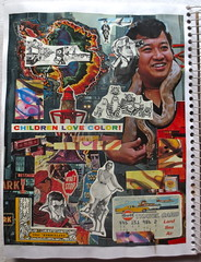 Christian Montone 2014 Sketchbook 33 (Christian Montone) Tags: art collage vintage ads advertising artwork graphics kitsch sketchbook 1950s montage 1960s 1970s montone midcentury 2014 vintagekitsch christianmontone