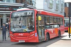 Abellio London 8118 YX13EHE (Will Swain) Tags: uk travel england west bus london buses june britain south transport surrey kingston greater kingstonuponthames 28th 2014 8118 abellio yx13ehe