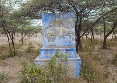 Decorated Tombstone, Hosanna, Ethiopia (Eric Lafforgue) Tags: africa people horse men art cemetery grave horizontal painting creativity outdoors death memorial day pattern adult drawing african faith religion tomb tombstone craft nobody nopeople carving photograph gravestone spirituality ethiopia custom obituary anthropology cultural engraved oneperson developingcountry humaninterest hornofafrica ethiopian eastafrica muralpainting artandcraft onlymen oromia fulllenght eternalrest oromo colorpicture onemanonly onematuremanonly colourimage africanethnicity africanculture humanrepresentation colourpicture ethio1409578