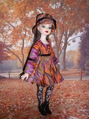 Ellowyne : bel automne (Le petit atelier de Valentine) Tags: robert doll wilde poupe tonner amricaine amrican wildeimagination ellowyne