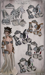 *paper moon* Ravens in Snow F gacha key (the_innocence) Tags: bear male leather birds female silver fur beads wolf hare fantasy armor fox warrior elk pm viking armour boar rp papermoon roleplay barbarian gacha birdskull fantasygachacarnival