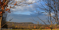 Sky view (maureen.elliott) Tags: blue autumn trees ontario fall landscape skies ridge landforms brucetrail kaloporeupllands