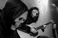 the bearpit, bristol (bajan me) Tags: england halloween musicians 35mm bristol fuji 2014 x100 zombiewalk thebearpit bajanme ivehadloadsoffreetime