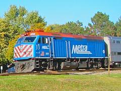 The BNSF race track in October 2014 (Chicago Rail Head) Tags: amtrak metra bnsf raceway brookfieldill mainlinetraffic