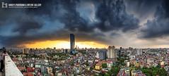Untitled_Panorama245s (Hanoi's Panorama & Skyline Gallery) Tags: city sky building skyline architecture skyscraper canon asian asia downtown capital skylines vietnam hanoi asean appartment lotte vitnam hni skyscrapercity badinh caoc banh
