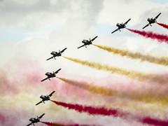(Adisla) Tags: espaa md olympus f45 300mm m42 manual avion em1 volar rubinar