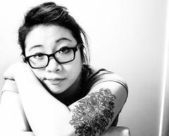 DSC_0965-2 (leah.kwok) Tags: portrait tattoo self selfie