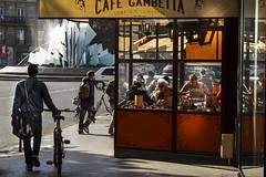 Caf Gambetta (leblogdedenis) Tags: street paris caf streetphotography vlo