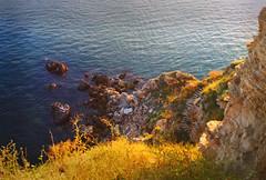 Kaliakra, Bulgaria (Iliana S) Tags: cliff mountain water rocks bulgaria cape historical blacksea kaliakra rarebirds