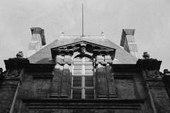 Sun on the Carnavalet Museum, Paris