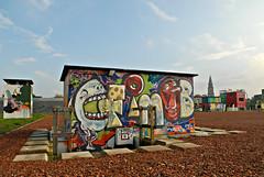 Groningen | Street Art Color (frata60) Tags: city netherlands graffiti nikon nederland streetphotography d200 groningen f28 stad streetshot 1755mm straatfotografie