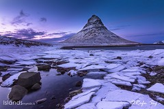 Mountain behind the Ice