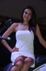 Eicma 2014 Model (177) (Pier Romano) Tags: woman sexy girl beautiful model legs milano babe belle upskirt donne slip hostess bella bellezza fiera gambe rho 2014 ragazze modelle eicma