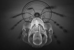 Luces del pasado. (Ventura Ces) Tags: old light blackandwhite bw lamp vintage nikon d3100