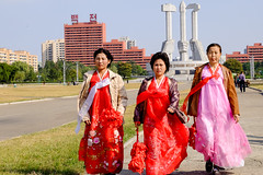 People on Sunday (jonas_k) Tags: travel northkorea pyongyang dprk pjöngjang