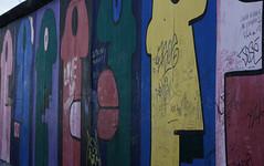 Wall2 (giordanoambrosi) Tags: bridge sunset sky white black berlin colors face wall museum germany children trafficlight child faces anniversary parliament tunnel 25 juggling potrait eastside thewall lanscape eastgermany eastsidegallery anniversario berlino jüdisches brlin muroberlino