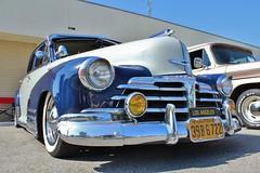 Temple City Classic Car Show (USautos98) Tags: chevrolet aerosedan bomb lowrider chevy