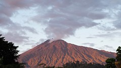 Mount Meru at Sunset