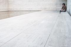 Mies (La T / Tiziana Nanni) Tags: barcelona city travel architecture portraits luca minimal miesvanderrohe ritratti architettura barcellona lessismore manportrait iamyou tizianananni