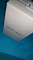 Samsung Galaxy Note 4 package box