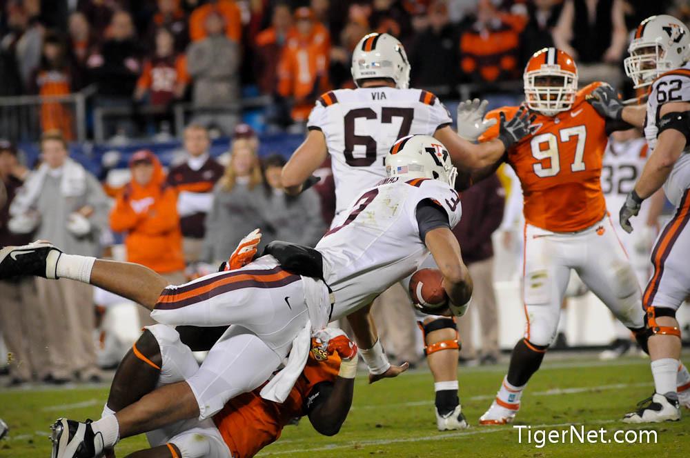 Clemson Photos: 2011, accchampionship, Football, Rennie  Moore, Virginia  Tech
