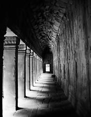 Angkor (walaphotography) Tags: leica travel bw rollei 35mm cambodia angkor pmk m4p retro80s cv3512