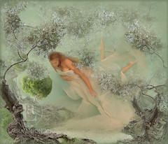 The Olive Grove (lauritaphotograph) Tags: ocean sea water fairytale poetry underwater dream olivegrove majorca fineartphotography olivetrees conceptualphotography photographyandpoetry poetrystories lauraantoniaphotography conceptualphotographers