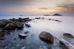 Turgutreis. (Stuart Stevenson) Tags: uk longexposure sunset sky seascape turkey photography scotland rocks waves tide kos tur greekislands kalymnos turgutreis aegeansea clydevalley mula pserimos karatoprak bodrumpeninsula canon1740mm thanksforviewing canon5dmkii stuartstevenson stuartstevenson