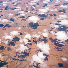 aerial: africa (miemo) Tags: africa clouds landscape spring aerial land iphone iphone5s vscocam