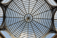 Umberto (halbag) Tags: blue roof italy architecture italia napoli naples galleriaumberto