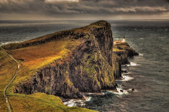 Neist Point (beelzebub2011) Tags: uk lighthouse scotland europe isleofskye hdr neistpoint highdynamicresolution