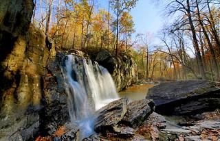 Falls into autumn