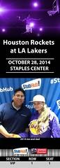 Your StubHub Commemorative Ticket (StubHubPhotos) Tags: lakers staplescenter stubhub onlygoodthings