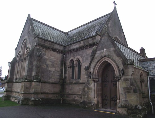 Tweedmouth Memorial Chapel at Royal Northern Infirmary Inverness Scotland