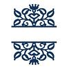 split-damask2 (emily dyer) Tags: silhouette svg papercut diecut