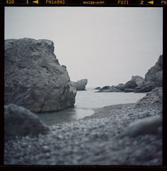*** (apple2apple) Tags: sea beach stones ns ukraine fujifilm pentacon six crimea 160 svet svit novyi novyy