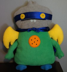 Uglydoll Prototype Sample - Power Dream Babo (jcwage) Tags: giantrobot ceramic prototype uglydoll rare uglydolls icebat babo sdcc wage horvath wedgehead davidhorvath sunmin trunko uglycon powerbabo dreambabo