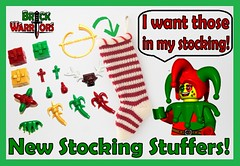 Holiday Gift Guide From A-Z: F is for Fantastic Stocking Stuffers (MandaBW) Tags: christmas holiday lego gift presents guide stocking minifigures stuffers brickwarriors