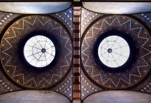 Twin Domes of Museum Building, Trinity