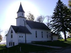 Hamlin Lutheran Church (grandpaspix) Tags: church rural sony iowa lutheran dsc hamlin s650