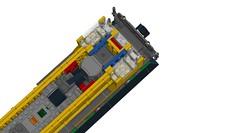 BradlyColin's UP Switcher recreated on LDD! (RS 1990) Tags: lego diesel loco unionpacific locomotive recreation remake reconstruction switcher moc shunter ldd digitaldesigner bradlycolin