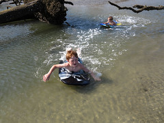 Paddling the Tide Pools (babyfella2007) Tags: ocean park boy sea dog jason tree beach sc water pool swimming garden carson children outside island coast living sand gun surf child lily state grant board south tide father hunting salt young michelle son southern coastal taylor carolina boogie beaufort tidal fripp ridgeland batesburg